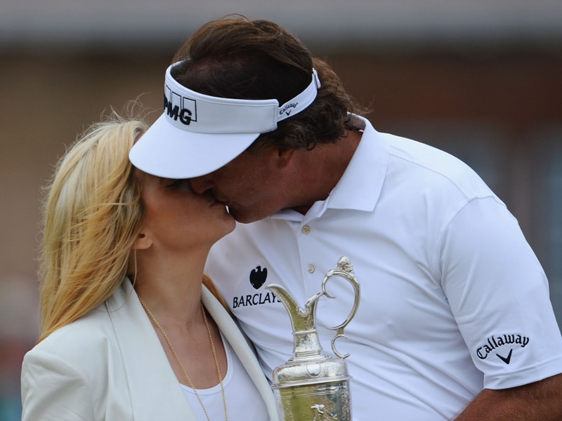 9. Phil and Amy Mickelson