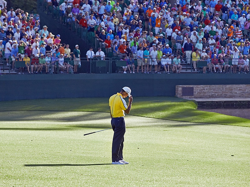 8. Tiger's major woes