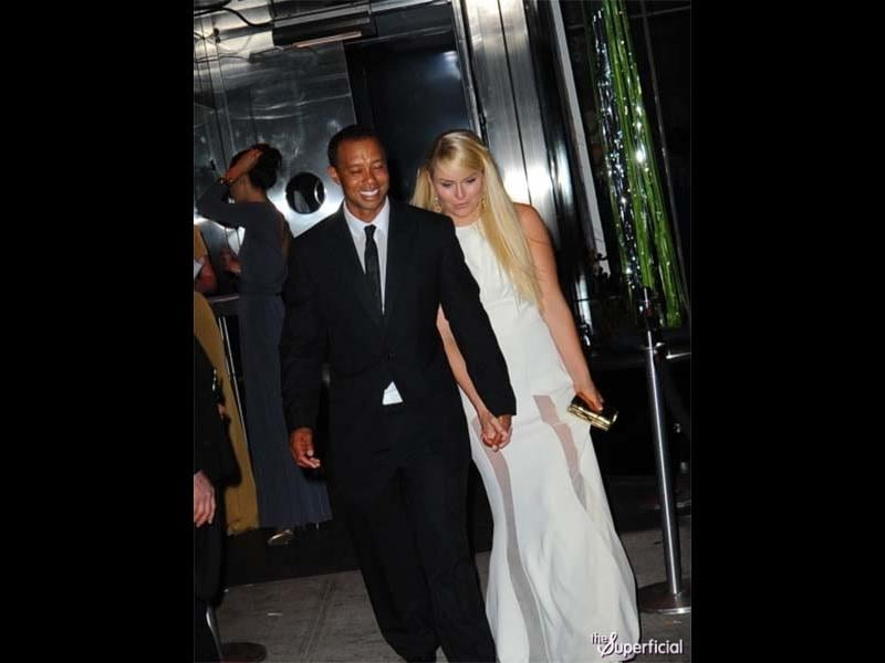 Ugly: Woods 'embarrasses' girlfriend in public