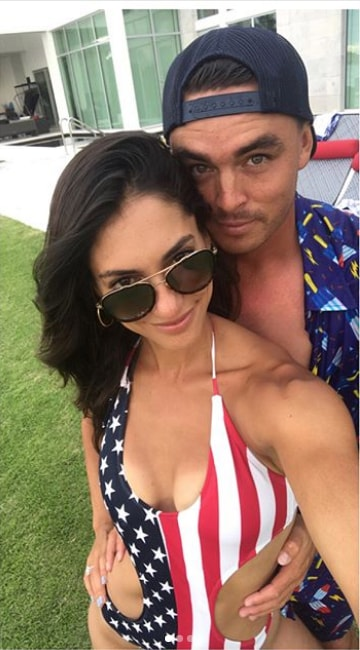 Alison Stokke and Rickie Fowler