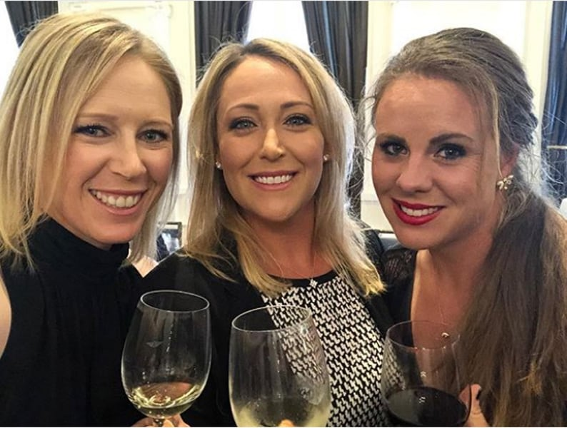 Morgan Pressel, Cristie Kerr, and Dani Holmqvist