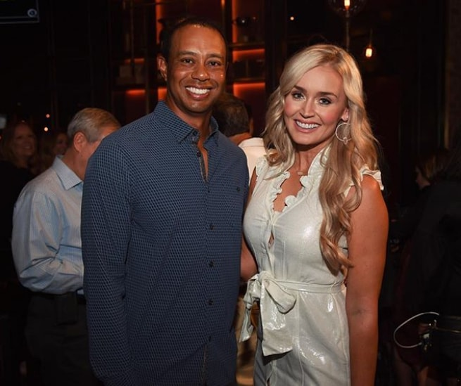 Tiger Woods and Blair O'Neal