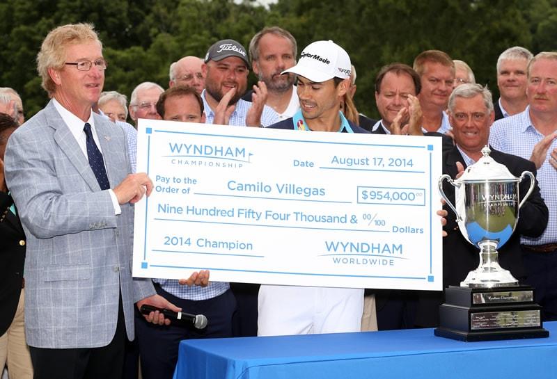 Wyndham Championship: Camilo Villegas