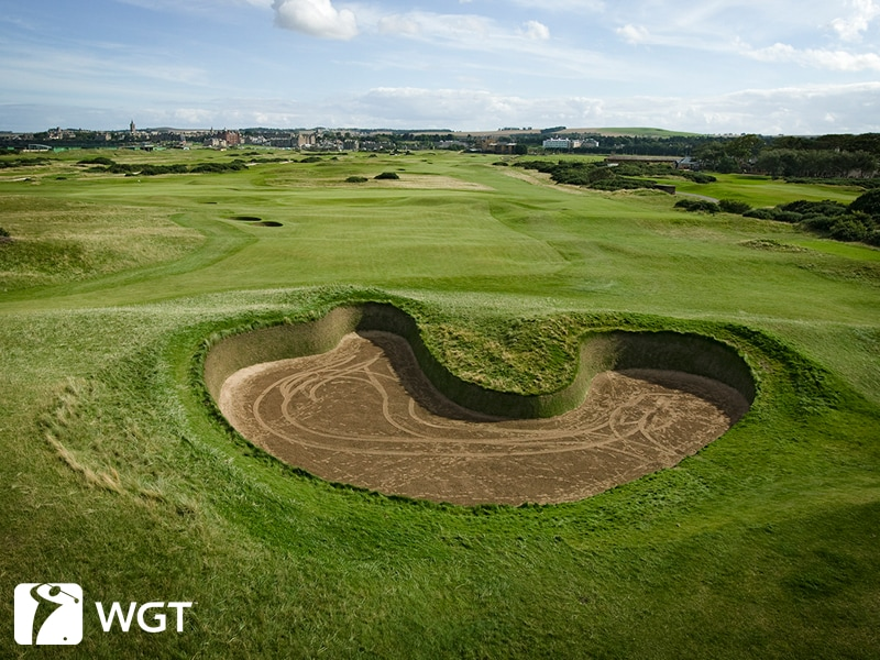 St. Andrews Old Course Bunker