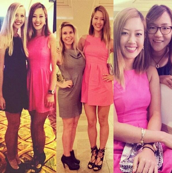 Michelle Wie, Jessica Korda, Jamie Kuhn, Lydia Ko