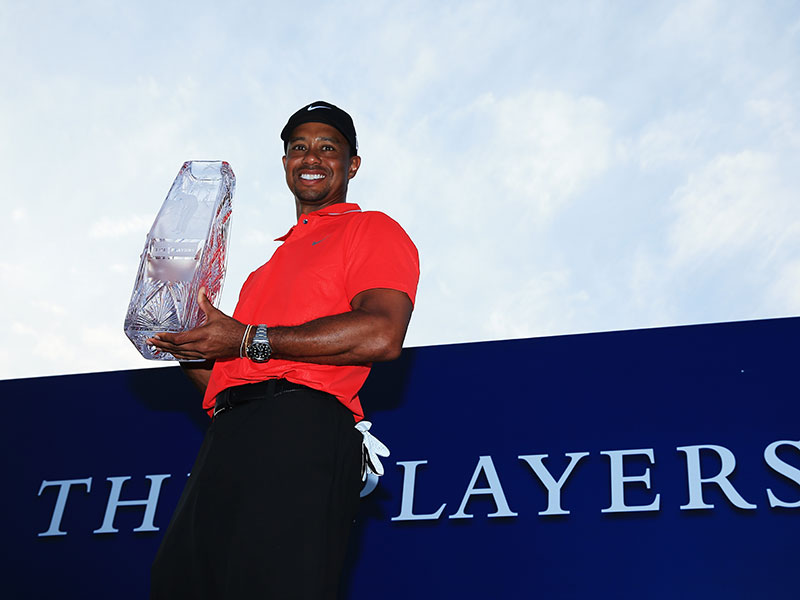 6. Wins The Players Championship