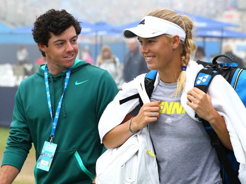 3. Rory McIlroy and Caroline Wozniacki