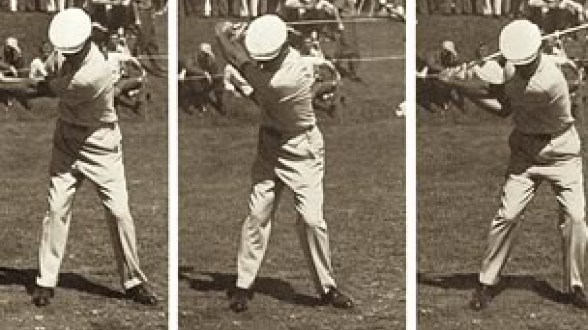 Ben Hogan S Swing Lessons Of A Lifetime Golf Channel