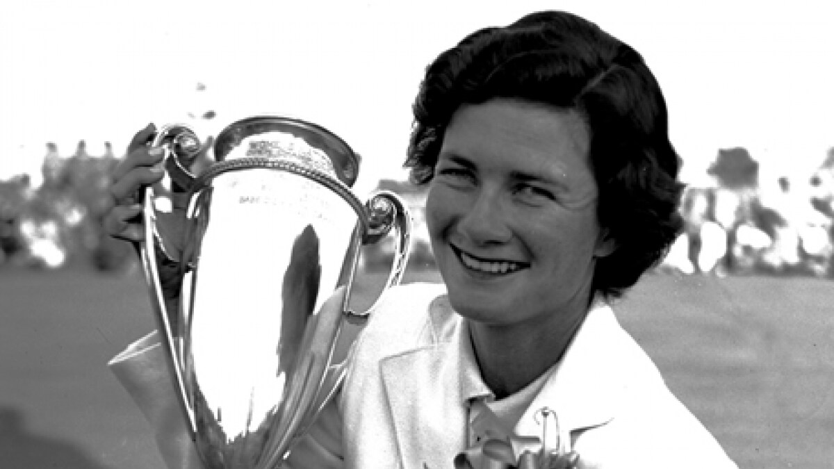 Watch Louise Suggs 11 LPGA majors video