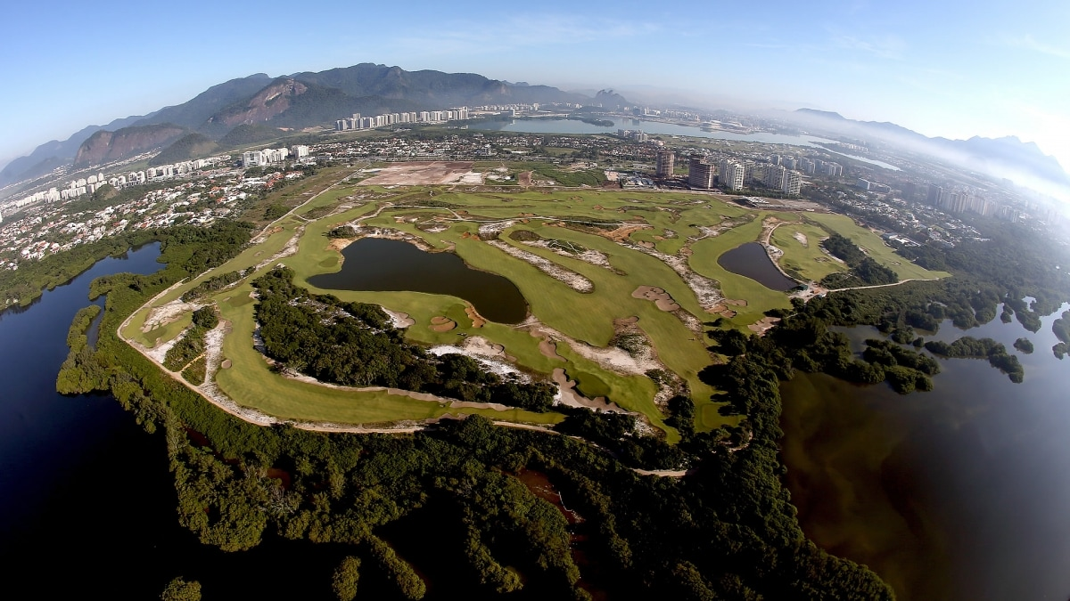 Olympics in golf the