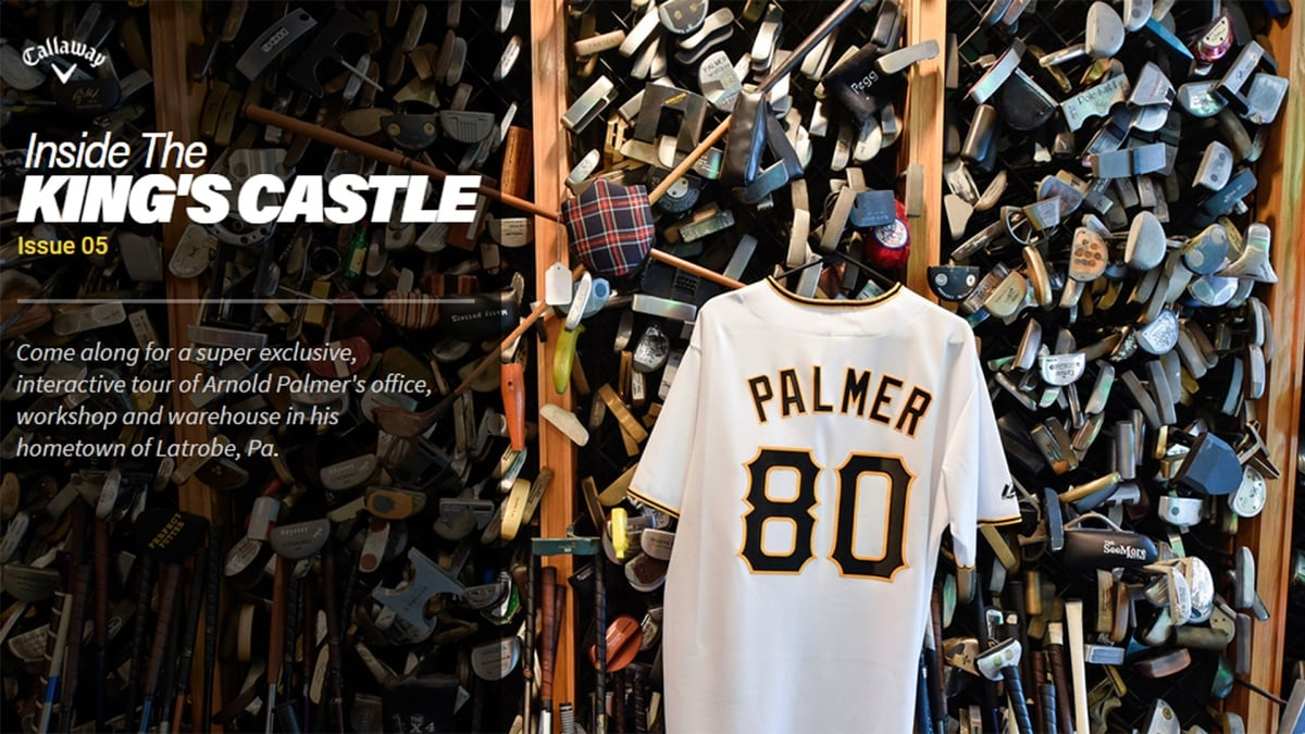 6fc78c4b789c Inside the King s Castle  Take a Tour of Arnold Palmer s Office ...