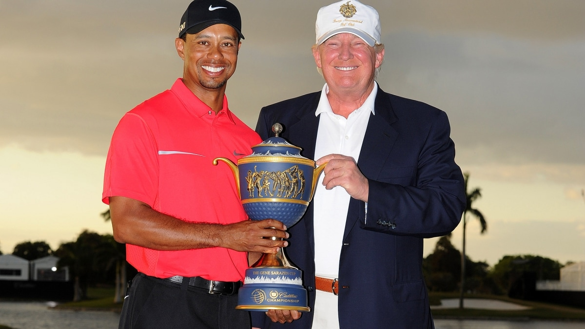 President Trump says he will present Tiger Woods with Medal of Freedom