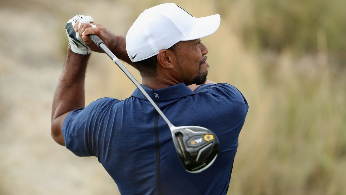 70f86f8fb14f79 Tiger Woods Signs with TaylorMade for Woods