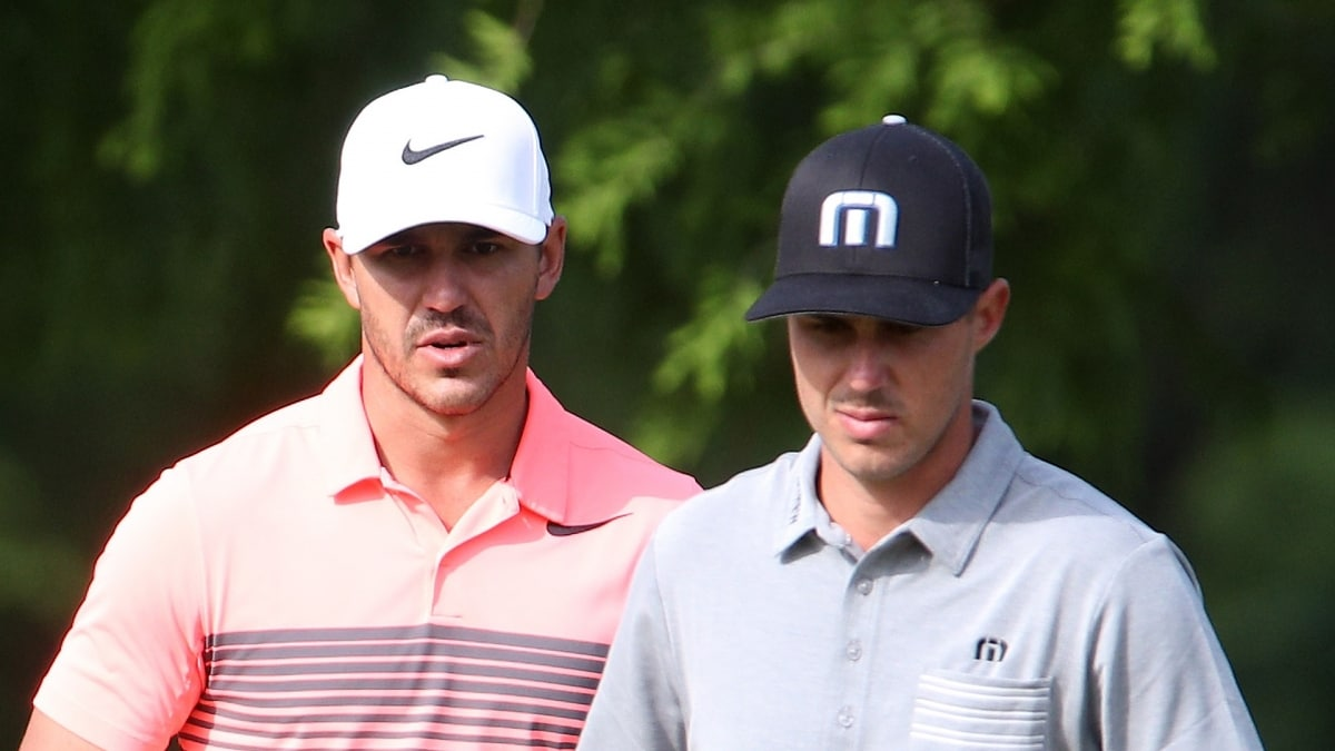 Brooks and Chase Koepka at the 2017 Zurich Classic.