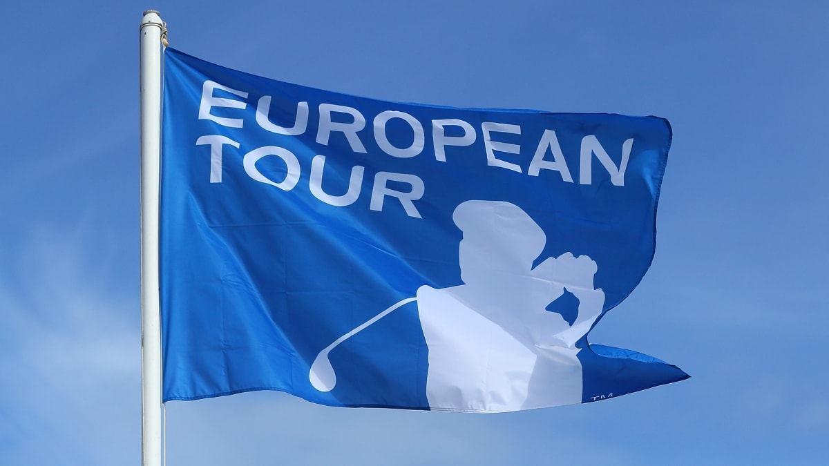 European Tour flag