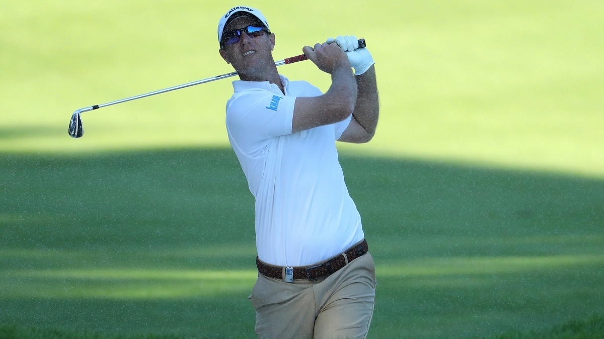 Nicolas Colsaerts in Rd. 2 of the Turkish Airlines Open.