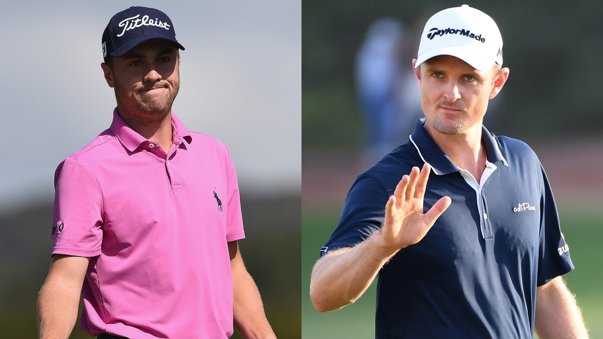 Justin Thomas Vs Justin Rose Could Be Ryder Cup Highlight Golf