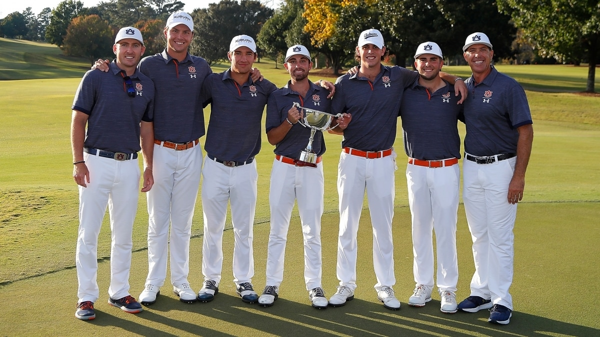 The Auburn Tigers at the 2018 East Lake Cup