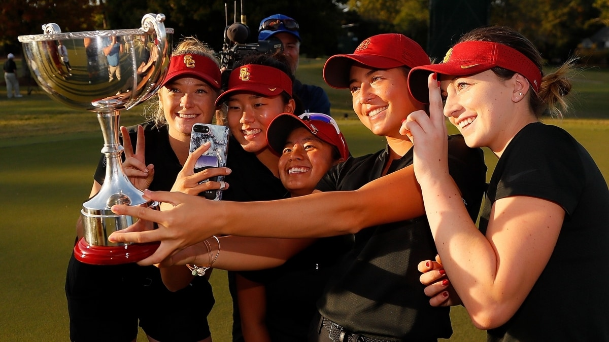 The USC Trojans at the 2018 East Lake Cup