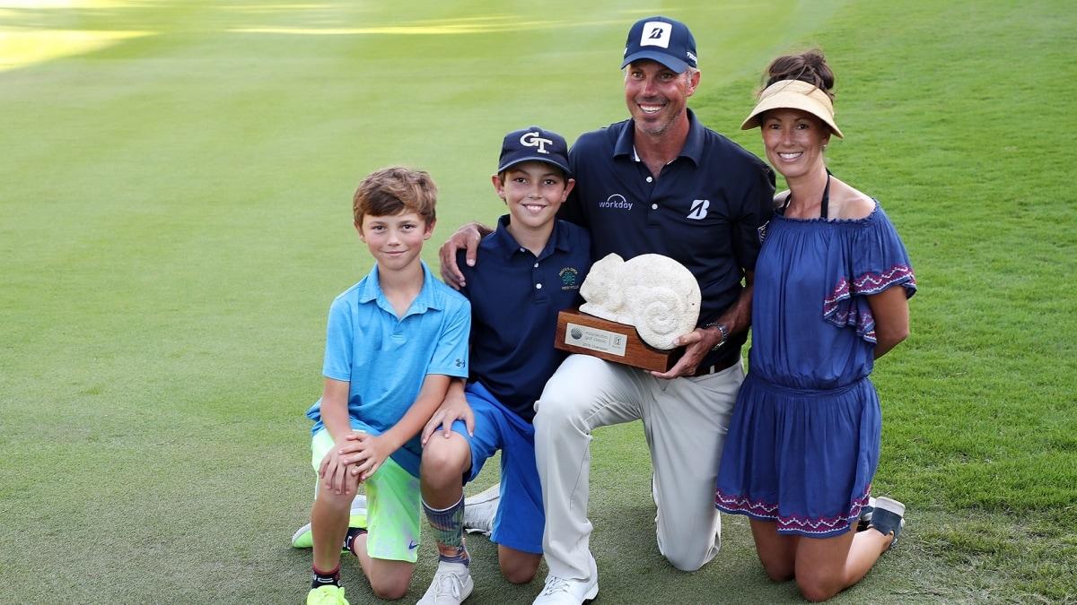 Matt Kuchar and family