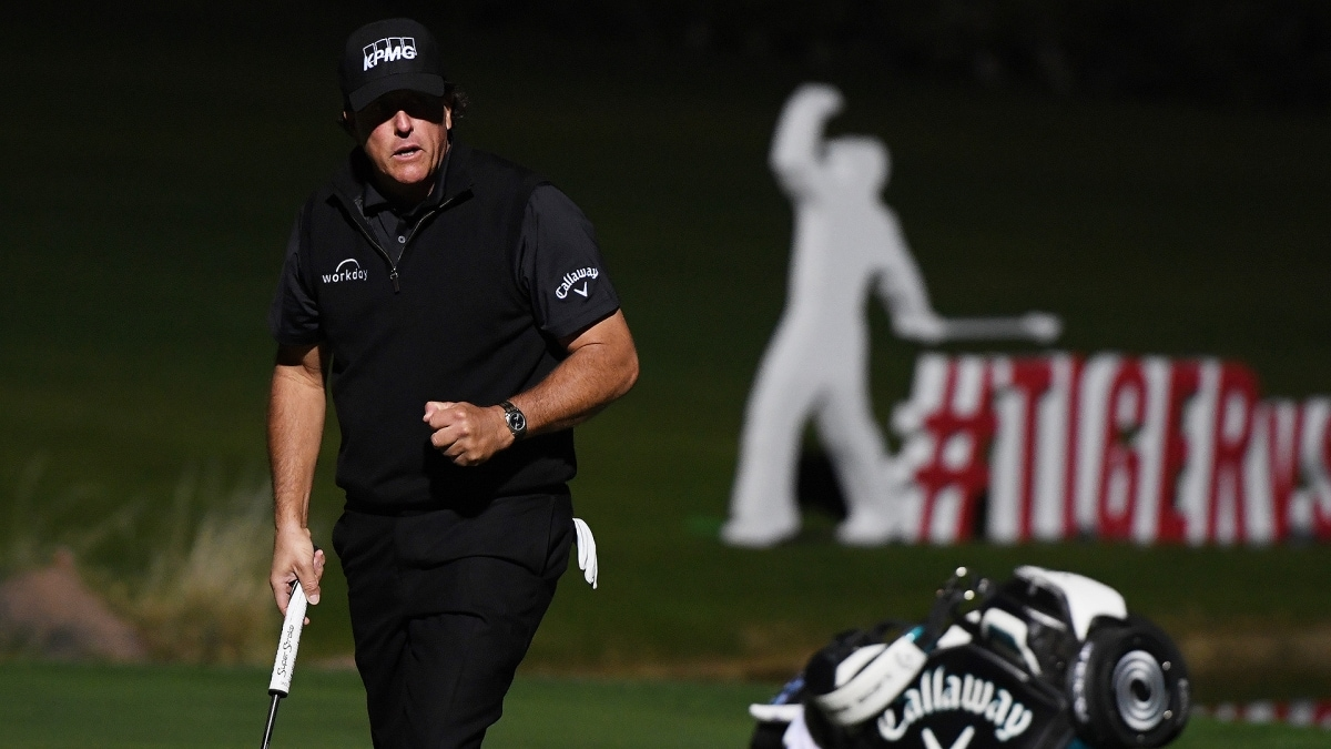 Phil Mickelson wins The Match