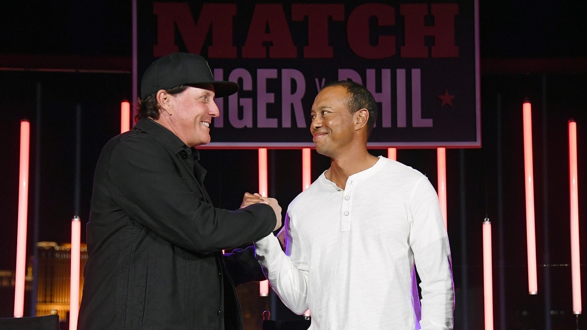 Phil Mickelson, Tiger Woods, The Match