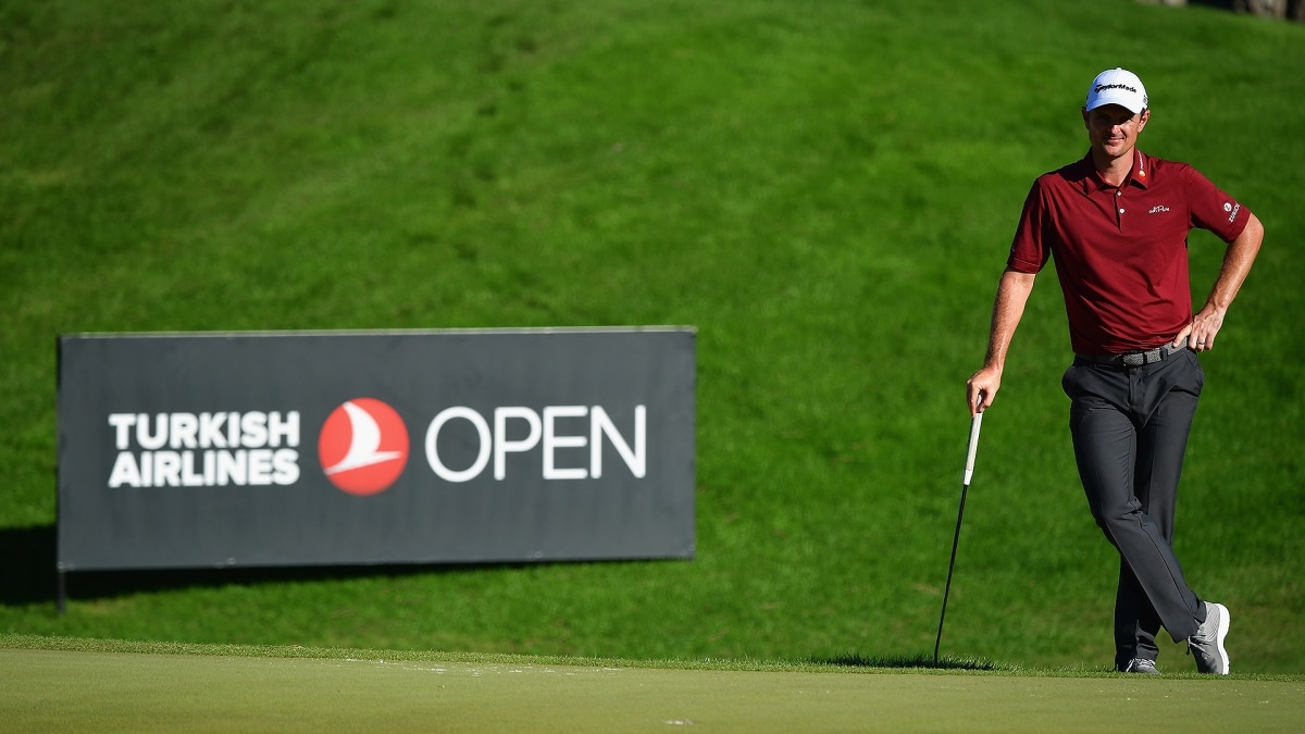 Rose pulls ahead in Turkish Open defence