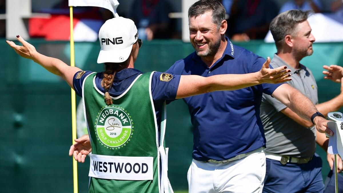 Lee Westwood wins the 2018 Nedbank Golf Challenge