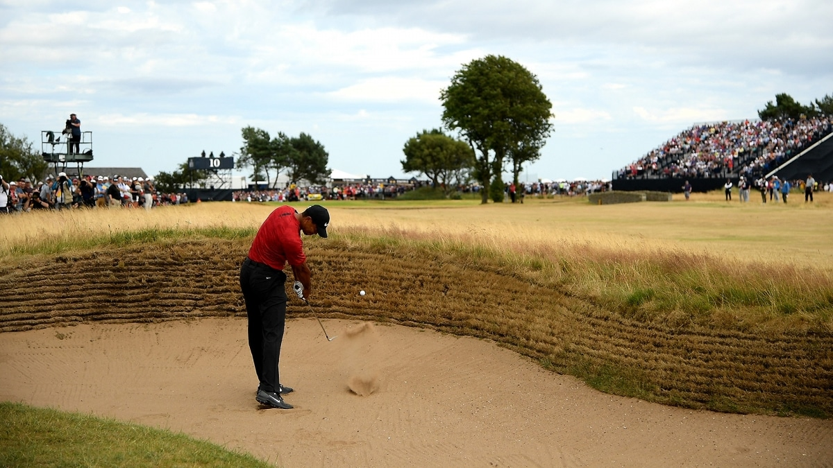what was tiger woods u0026 39  best shot of the year  this one