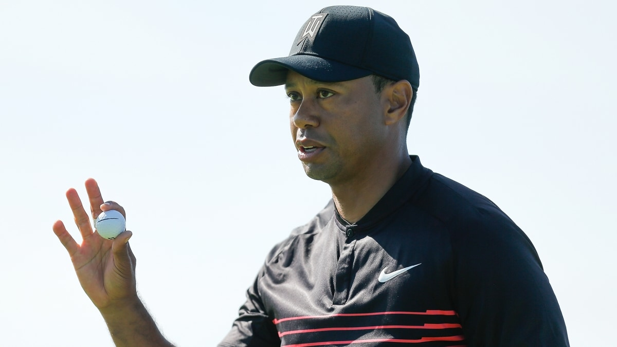 Tiger Woods at the 2018 Farmers Insurance Open.