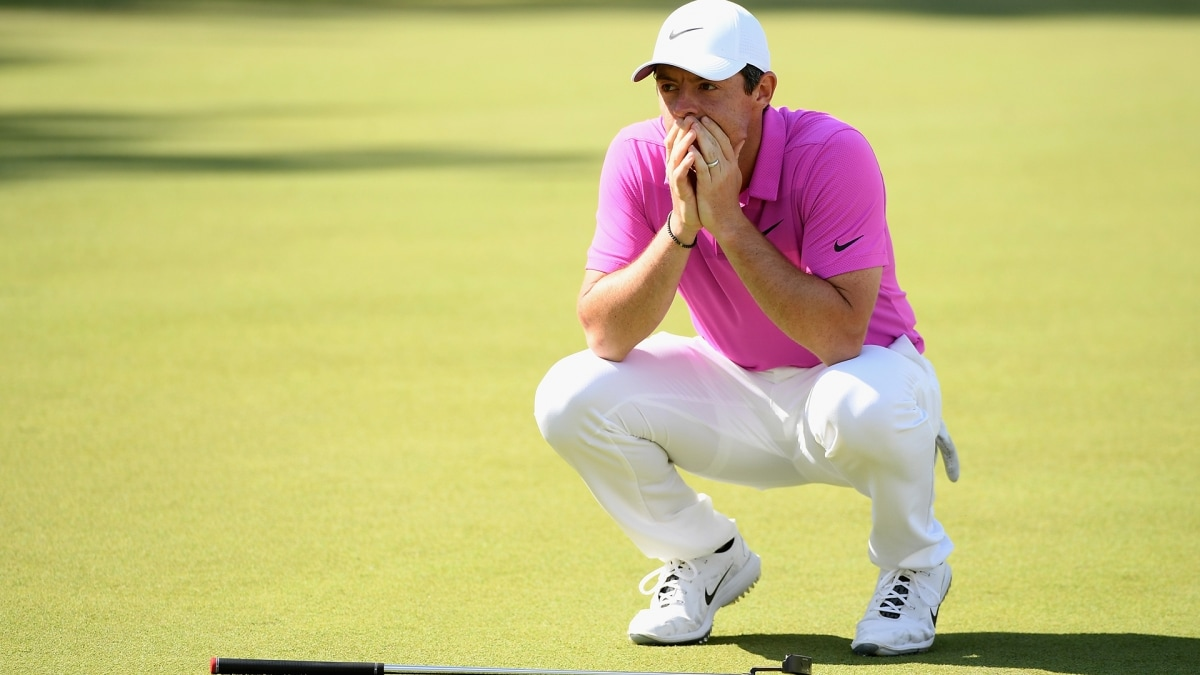 Rory McIlroy at the 2018 BMW PGA Championship.