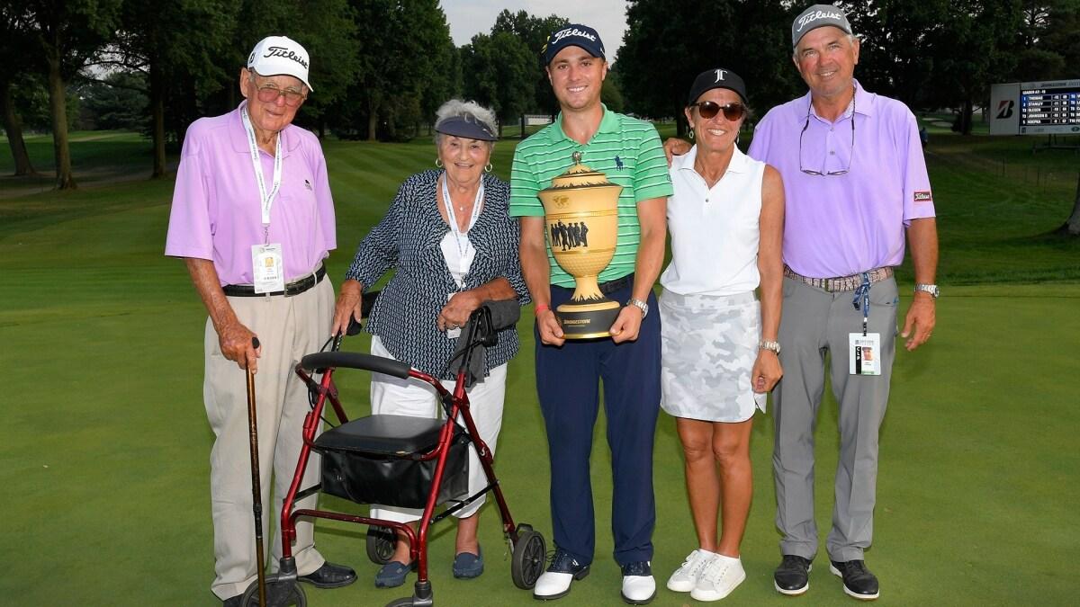 Justin Thomas Wins 2018 Wgc Bridgestone Invitational Golf Channel