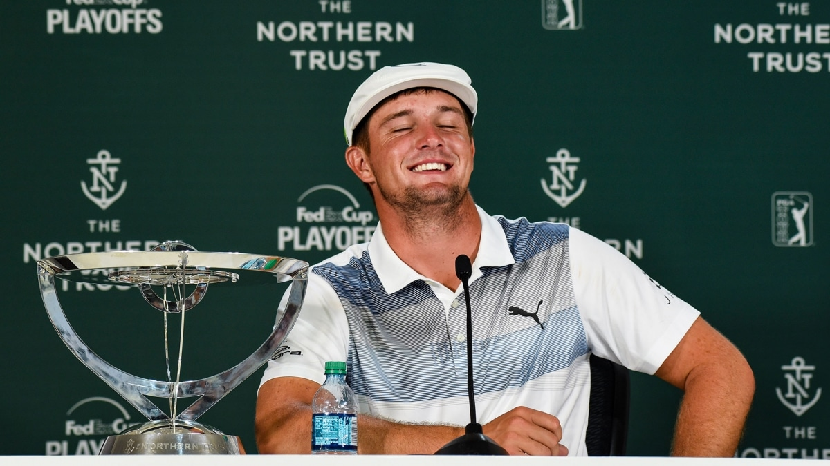 Bryson DeChambeau Lives up to Mad Scientist Nickname  fff90379860