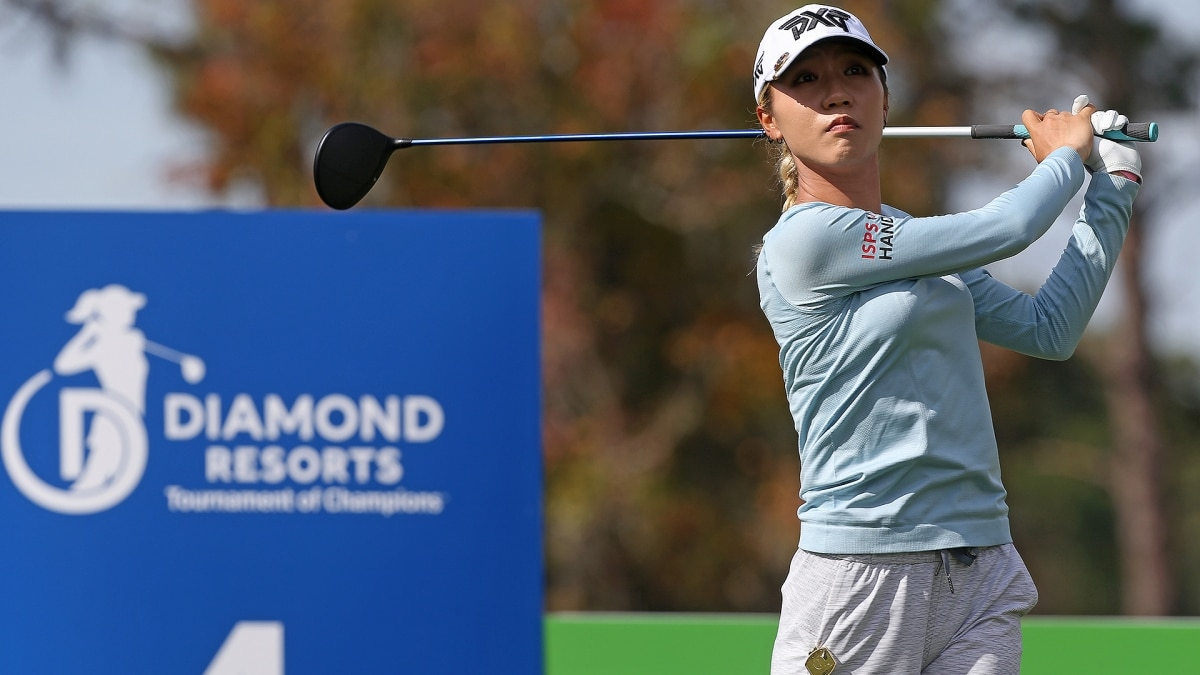 Lydia Ko shares the lead at Event of Champions