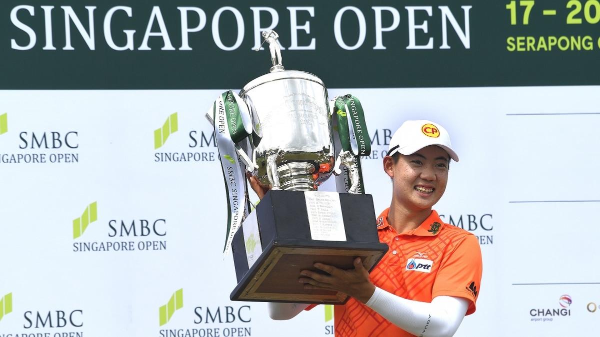 Janewattananond wins Singapore Open with final round 65   AP sports