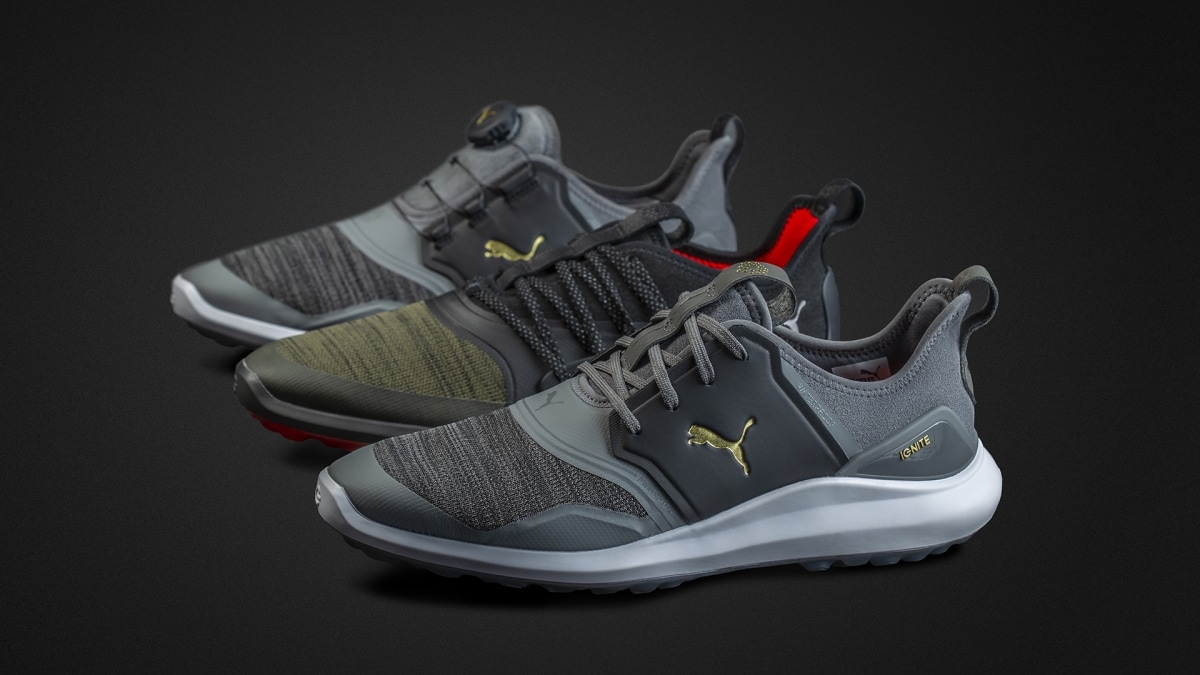 7945f9af094c Lacing options highlight Puma s IGNITE NXT line of golf shoes
