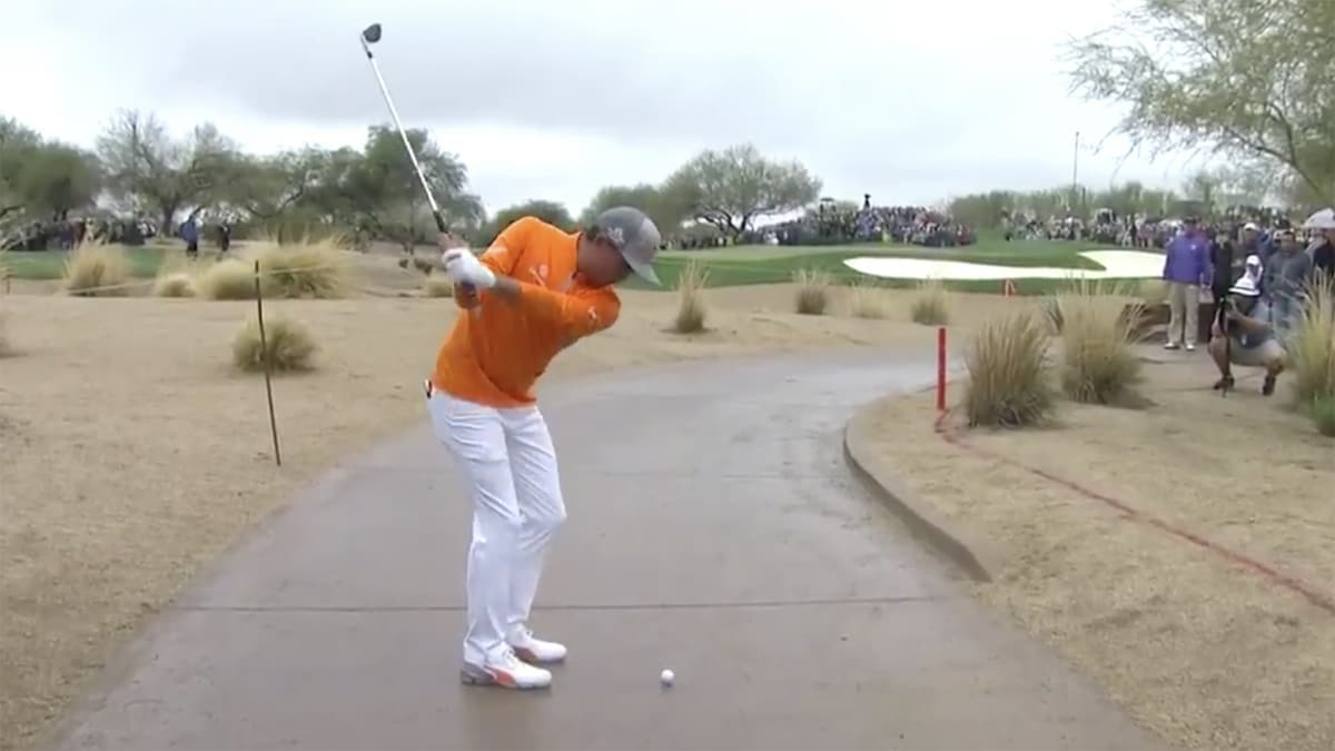 Rickie Fowler Nearly Blows Phoenix Open Thanks to Dumb Rule