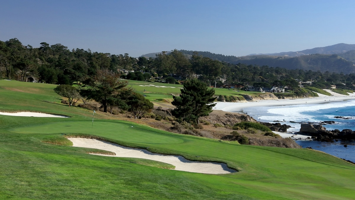 Gay, Langley take early lead at Pebble Beach Pro