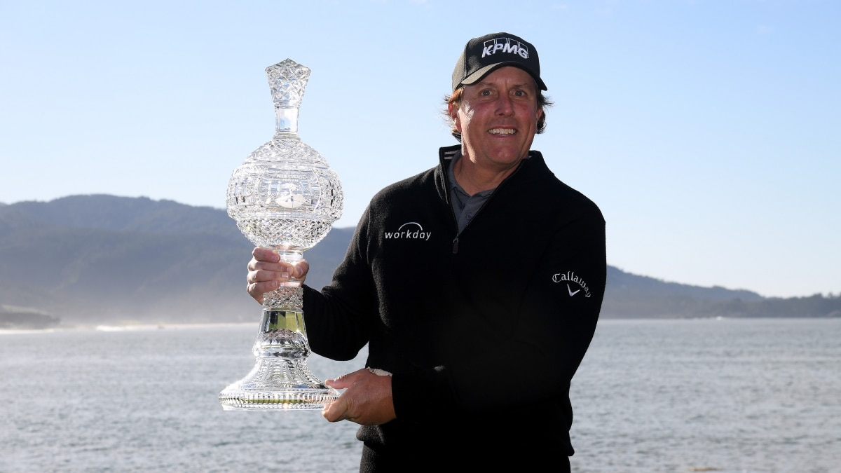 AT&T Pebble Beach Pro-Am Phil Mickelson