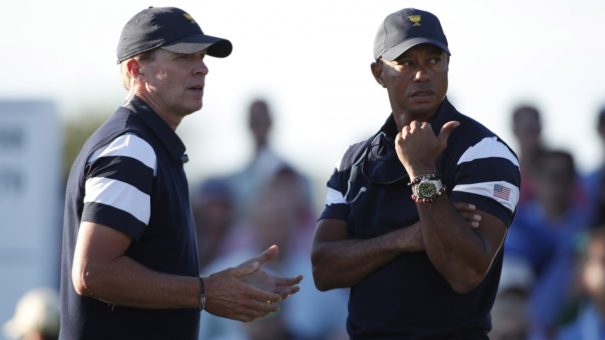Couples, Stricker and Johnson to assist Woods at Presidents Cup