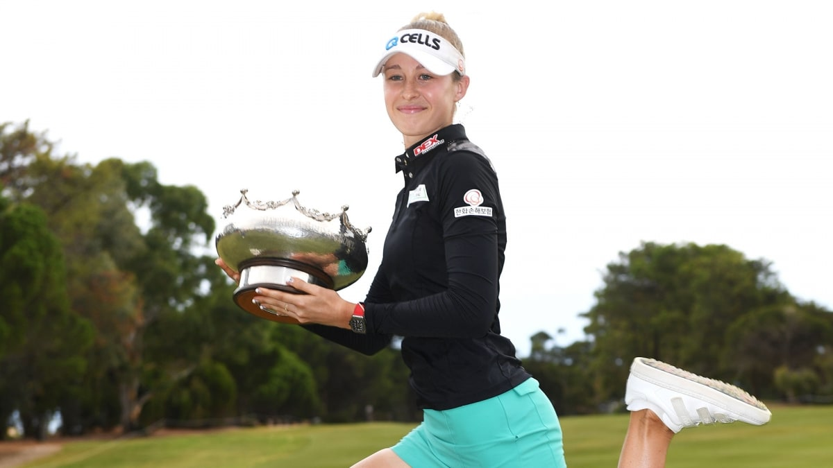 Korda keeps it in the family to win LPGA Australian Open