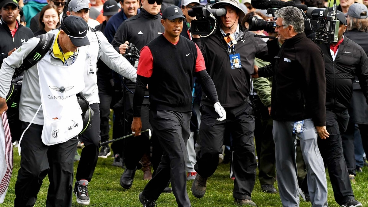 Tiger Woods finishes Genesis Open at Riviera tied for 15th