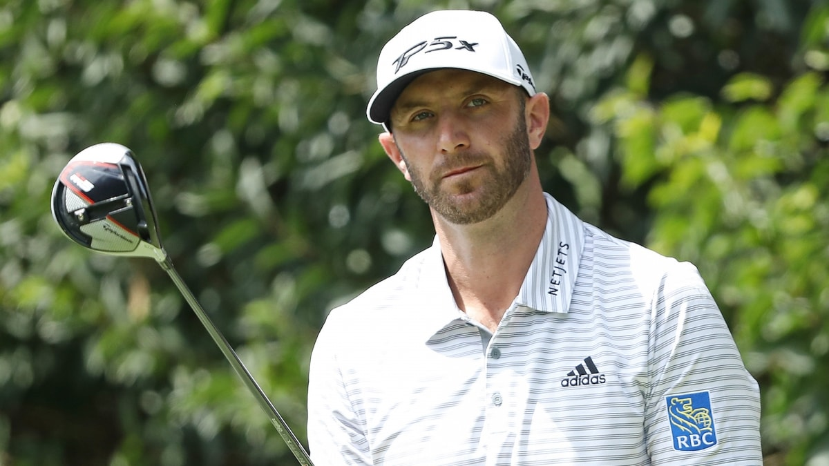 Dustin Johnson Just Hit The Best Shot Of The Tournament