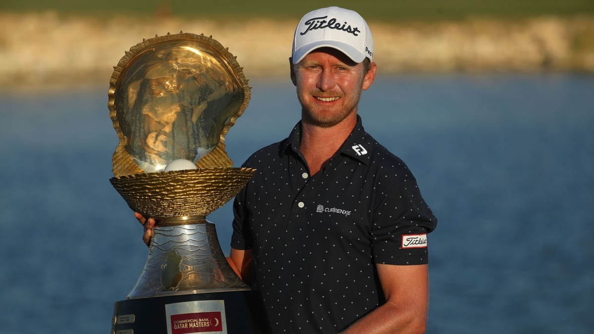 Harding wins maiden European Tour title at Qatar Masters