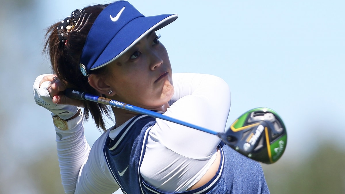 michelle wie inspired by tiger woods u0026 39  win ahead of