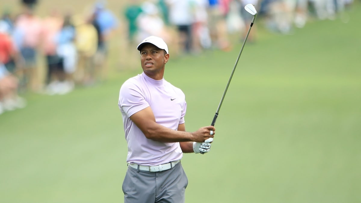 Nicklaus major record in play again for Woods
