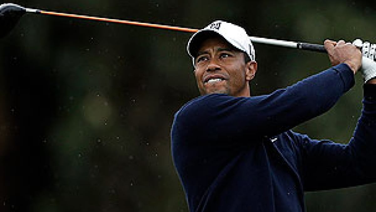 Tiger Woods at the 2013 Farmers Insurance Open
