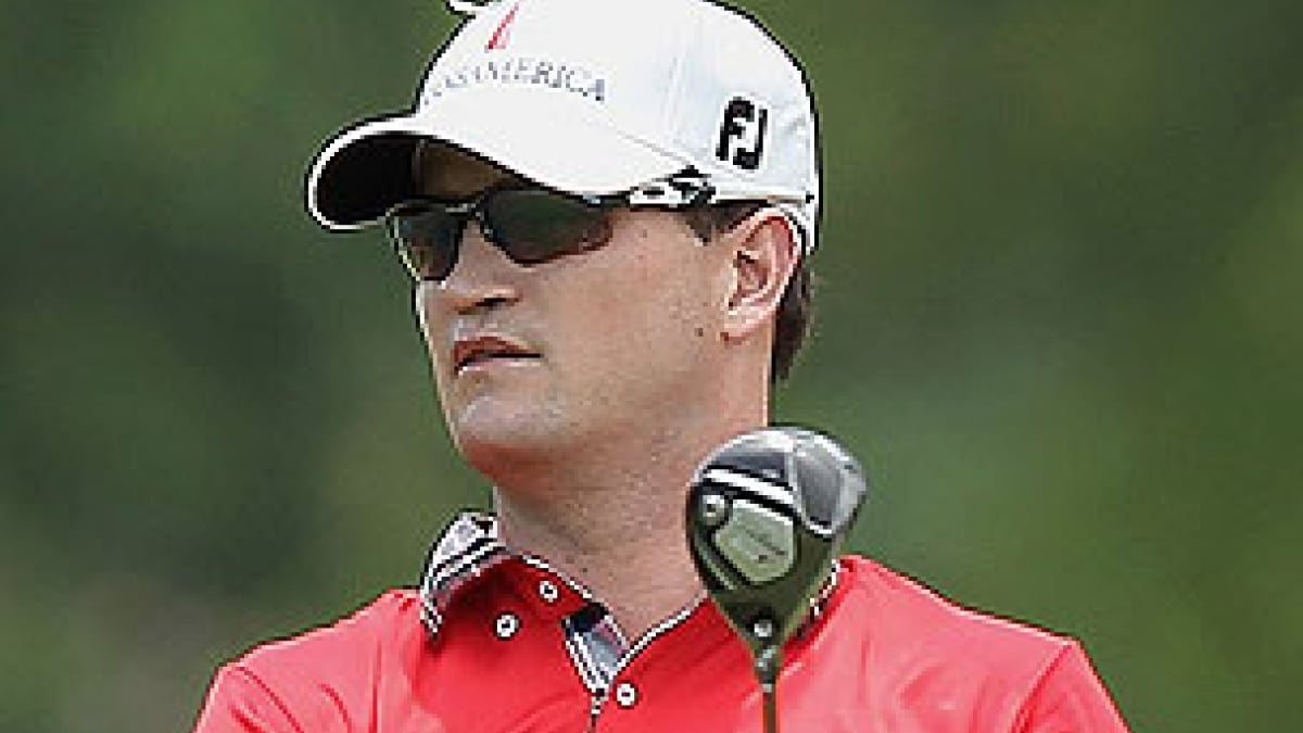 Zach Johnson at the 2012 Crowne Plaza Invitational at Colonial