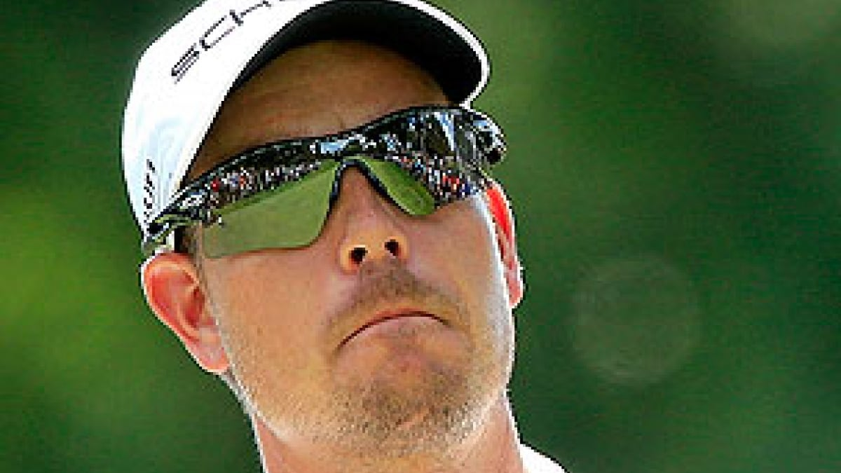 Henrik Stenson at the 2013 WGC-Bridgestone Invitational
