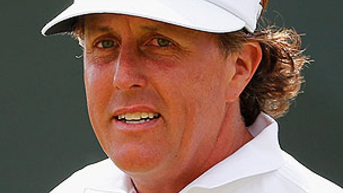 Phil Mickelson at the 2013 British Open